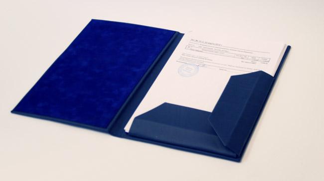 Изготовление папок на заказ Переплетная Мастерская Пролетарка Папка на подпись разворот Папка на подпись разворот